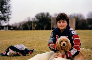 Katie and Duncan, 1984