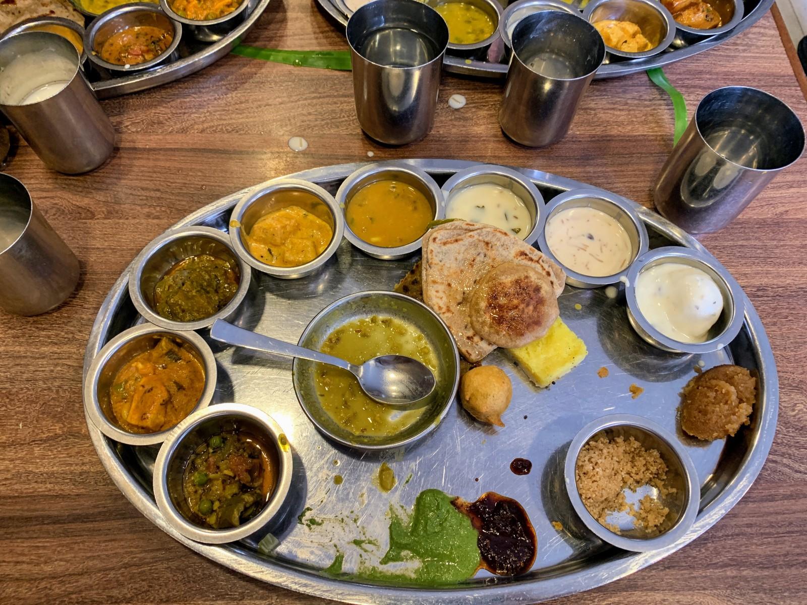 Rajastani lunch