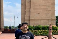 Salil at India Gate