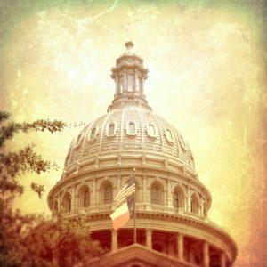 Artsy fartsy Texas Capitol