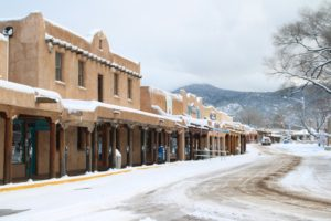Taos in winter