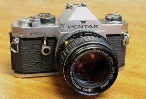 Pentax MX SLR camera